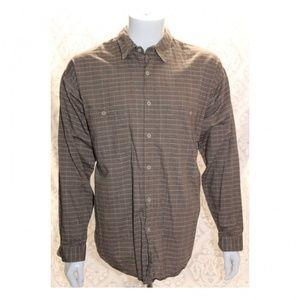 Patagonia Men's Long Sleeve Brown Shirt
